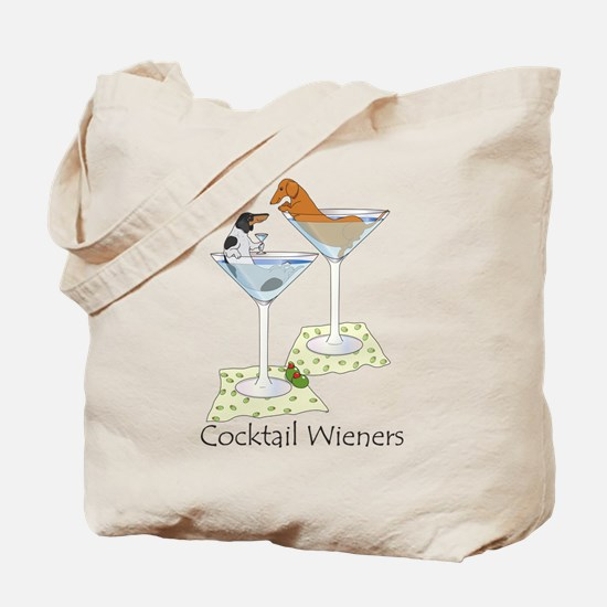 BT Piebald, Red Cocktail Wien Tote Bag