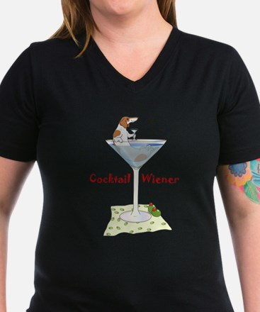 Red Piebald Cocktail Wiener Shirt