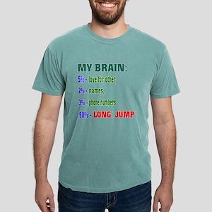 My Brain, 90% Long Jump Mens Comfort Colors® Shirt