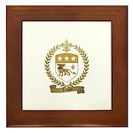 TOUPIN Family Crest Framed Tile