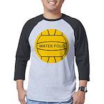 Water Polo Ball Mens Baseball Tee