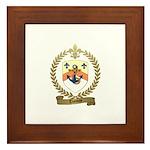 THOMAS Family Crest Framed Tile