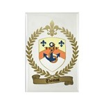 THOMAS Family Crest Rectangle Magnet (10 pack)