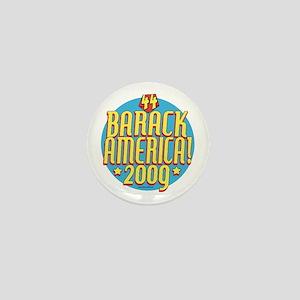 Barack America Text 09 Mini Button