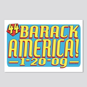 Barack America Text 09 Postcards (Package of 8)