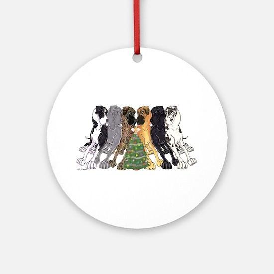 Xmas N6L Ornament (Round)