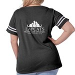 Women's Plus Size Football T-Shirt Front/back