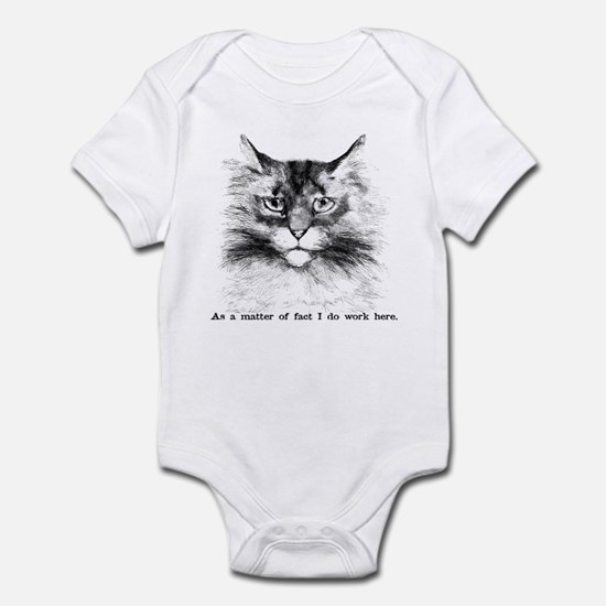 Do Work Here Infant Bodysuit