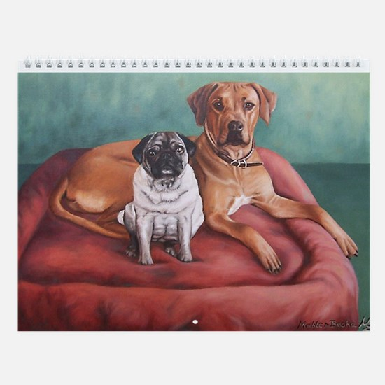 Wall Calendar Dog Portraits