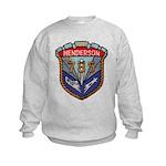USS HENDERSON Kids Sweatshirt