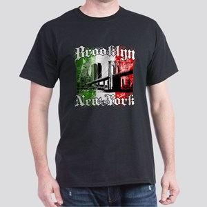 "Brooklyn ""Italian Flag"" Dark T-Shirt"