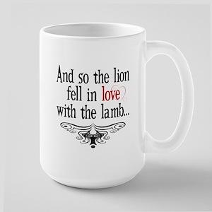 Lion & Lamb Swirl Large Mug