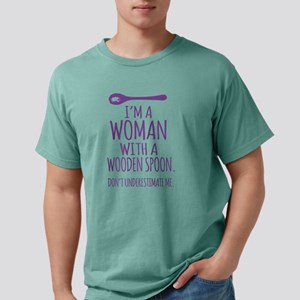 Woman With a Wooden Spoon T-Shirt