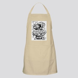 Book Monster BBQ Apron