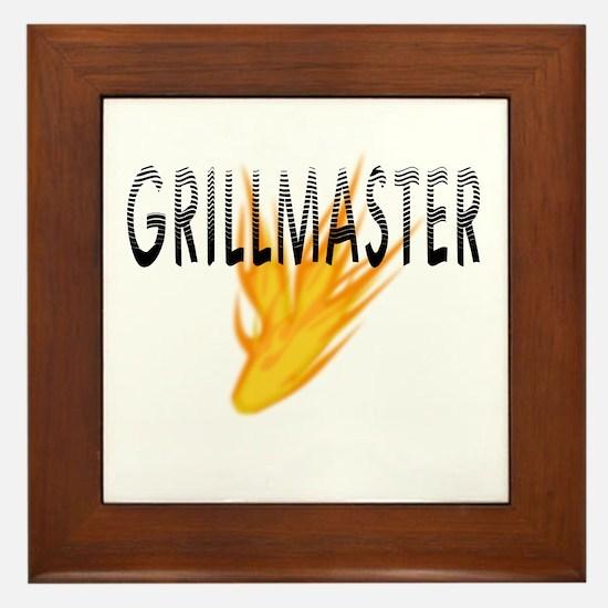 Grillmaster Framed Wall Tile