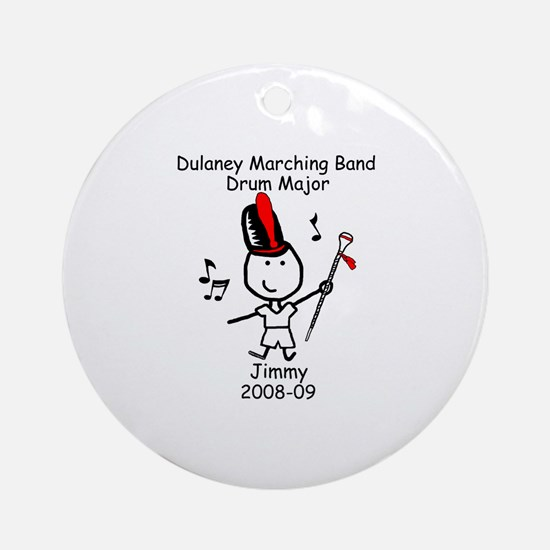 Drum Major - Jimmy Ornament (Round)