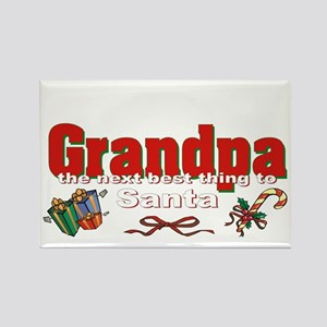 Grandpa, the next best thing to Santa Rectangle Ma