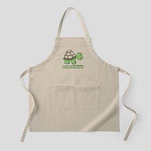 Turtle Neck BBQ Apron