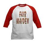 Fair Maiden Kids Baseball Jersey