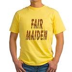 Fair Maiden Yellow T-Shirt