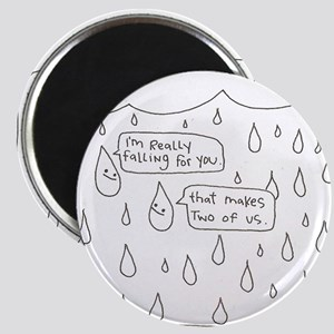 "Awesome round ""Falling For You"" Magnet"