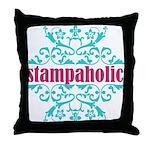 Stampaholic Throw Pillow