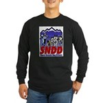 Long Sleeve Dark T-Shirt - Alternate SNDD logo