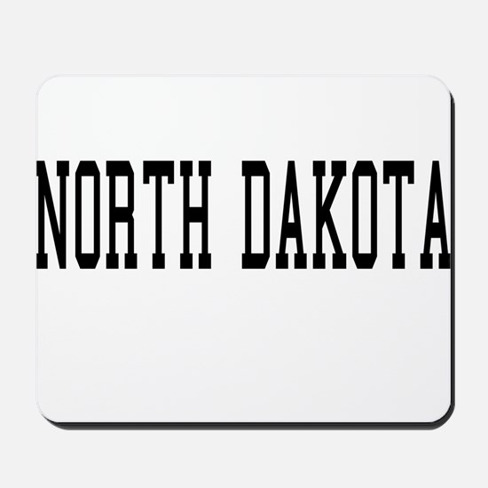 North Dakota Mousepad