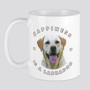 Happiness is a Labrador! Mug