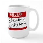 Twilight - Edward's Girlfriend Large Mug