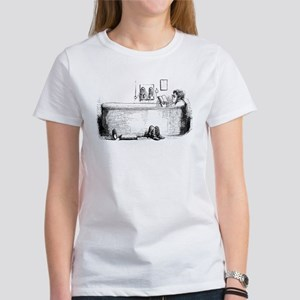 In the bath Women's T-Shirt