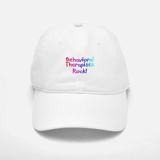 Behavioral Therapists Rock! Baseball Baseball Cap