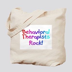 Behavioral Therapists Rock! Tote Bag