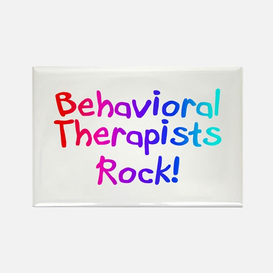Behavioral Therapists Rock! Rectangle Magnet