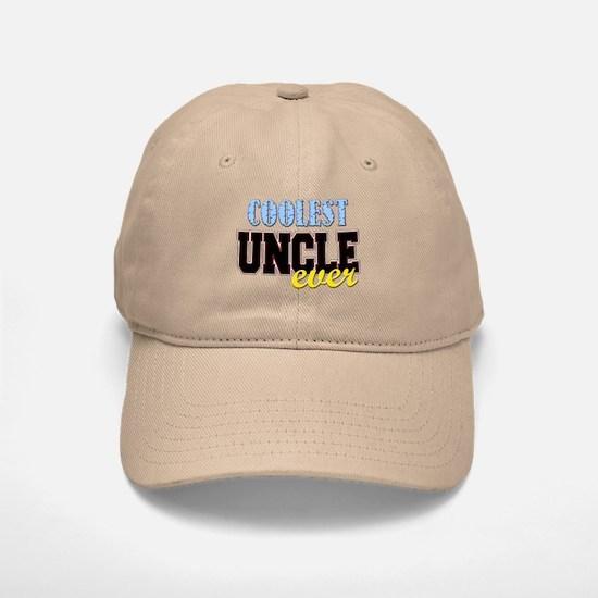 Coolest Uncle Baseball Baseball Cap
