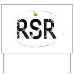 Rhodesia car logo Yard Sign
