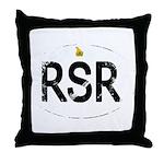 Rhodesia car logo Throw Pillow