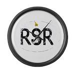 Rhodesia car logo Large Wall Clock