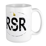 Rhodesia car logo Large Mug
