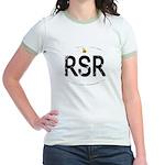 Rhodesia car logo Jr. Ringer T-Shirt