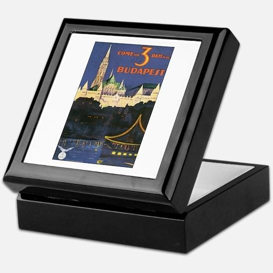 Budapest Hungary Keepsake Box