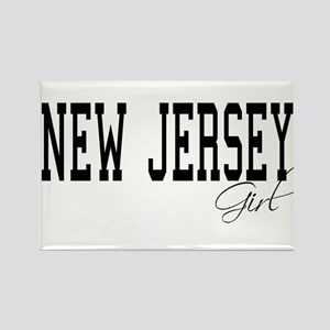 New Jersey Girl Rectangle Magnet