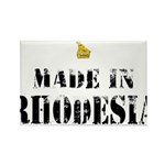 Made in Rhodesia Rectangle Magnet