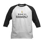Made in Rhodesia Kids Baseball Jersey