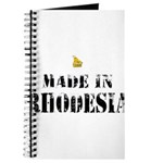Made in Rhodesia Journal