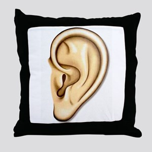 Ear Doctor Audiologists Audio Throw Pillow
