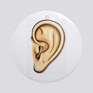 Ear Doctor Audiologists Audio Ornament (Round)