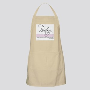 Emerson Quote - Poetry - BBQ Apron
