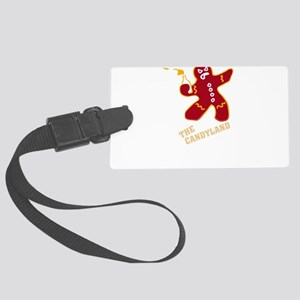 The candyland Large Luggage Tag