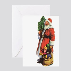 Old St. Nick Greeting Card